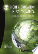 Higher Education in South Africa Book