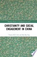 Christianity And Social Engagement In China