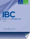 2018 International Building Code and Commentary Combo