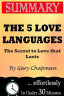 Summary   the 5 Love Languages Book