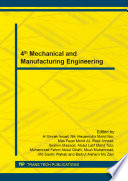 4th Mechanical And Manufacturing Engineering Book PDF