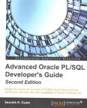Oracle Advanced Pl Sql Developer Professional Guide Second Edition Book PDF