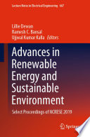 Advances in Renewable Energy and Sustainable Environment Book