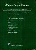 Studies in Intelligence - Ausgabe 1;Ausgabe 2002 - Seite 27