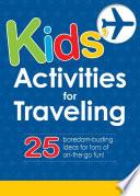 Kids  Activities for Traveling