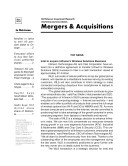 Telecom Mergers & Acquisitions Monthly Newsletter September 2010