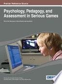 Psychology  Pedagogy  and Assessment in Serious Games
