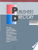 Publishers Directory