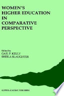 Women S Higher Education In Comparative Perspective