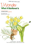 I Wonder what a Rainforest is Book