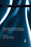 Transparency and Surveillance as Sociotechnical Accountability Pdf/ePub eBook