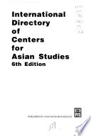 International Directory of Centers for Asian Studies