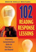 102 Reading Response Lessons Pdf/ePub eBook