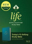 NLT Life Application Study Bible  Third Edition  Leatherlike  Teal Blue