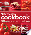 """Betty Crocker Cookbook, 11th Edition: 1500 Recipes for the Way You Cook Today"" by Betty Crocker"