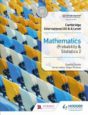 Books - Cam Inter As & A Level Maths Prob And Statistics 2 | ISBN 9781510421776