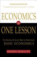 Economics in One Lesson
