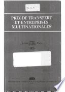 Prix de transfert et entreprises multinationales