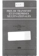Prix de transfert et entreprises multinationales [Pdf/ePub] eBook