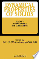 Phonon Physics The Cutting Edge Book PDF