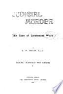 Judicial Murder