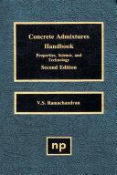 Concrete Admixtures Handbook