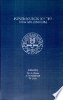 Power Sources For The New Millennium Book PDF