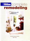 This Old House Complete Remodeling
