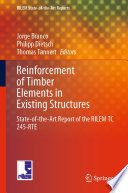 Reinforcement of Timber Elements in Existing Structures
