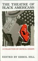 The Theatre of Black Americans ebook