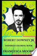 Robert Downey Jr Inspired Coloring Book