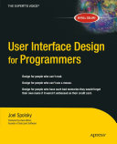 Pdf User Interface Design for Programmers