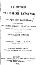 A Dictionary of the English Language ...