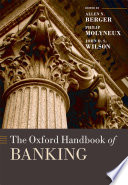 The Oxford Handbook of Banking