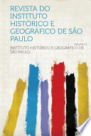 Revista Do Instituto Histórico E Geográfico de Sao Paulo