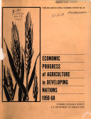 Economic Progress of Agriculture in Developing Nations  1950 68
