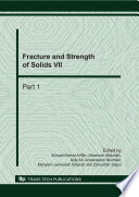 Fracture and Strength of Solids VII Book