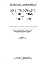 One Thousand Good Books for Children