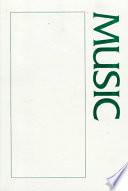A Sourcebook About Music