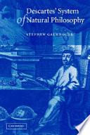 Descartes' System of Natural Philosophy Pdf/ePub eBook