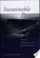 Sustainable Poetry