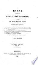 An essay concerning human understanding     The twentieth edition  etc Book