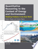 Quantitative Reasoning in the Context of Energy and Environment