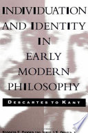 Read Online Individuation and Identity in Early Modern Philosophy For Free