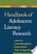 Handbook Of Adolescent Literacy Research Book PDF