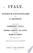 Italy   Handbook for Travellers Book PDF