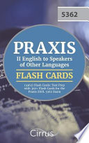Praxis II English to Speakers of Other Languages (5362) Flash Cards