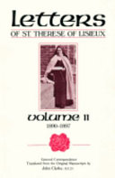 The Letters of St. Thérèse of Lisieux and Those Who Knew Her: General Correspondence, vol. 2