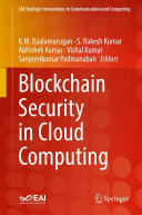 Blockchain Security in Cloud Computing