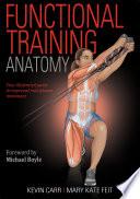 Functional Training Anatomy Book